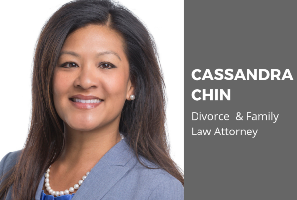 Cassandra Chin, Divorce and family law lawyer Manassas