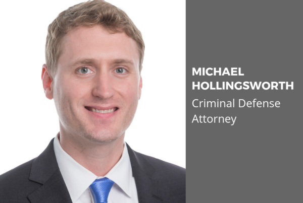 Prince William County Criminal Defense Attorney Michael Holligsworth