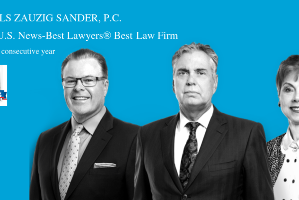 "Best Lawyers® names Nichols Zauzig ""Best Law Firm"" Top Tier in Northern Virginia"