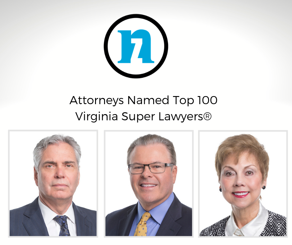 Top 100 Virginia Super Lawyers at Nichols Zauzig