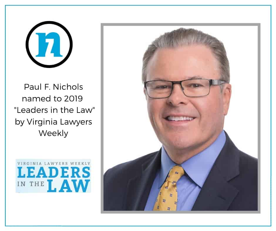 Woodbridge Family Lawyer Paul Nichols Named Legal Leader 2019